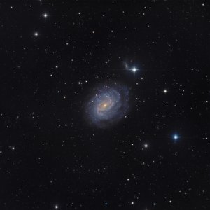 NGC 1187 Galaxy in Eridanus