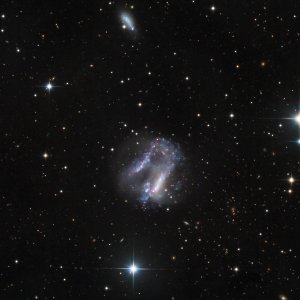 Arp 261 Interacting Galaxies in Libra