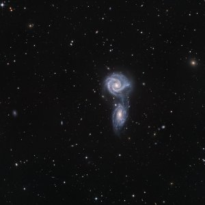 Arp 271 Interacting Galaxies in Virgo