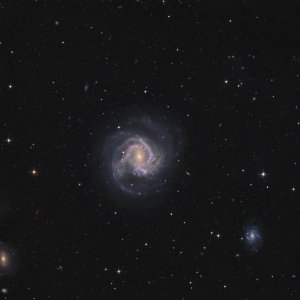 M61 Galaxy in Virgo