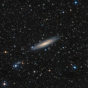 NGC 2613 GALAXY IN PYXIS