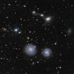 NGC4410-11 Galaxies in Virgo