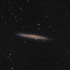NGC4437 Spiral galaxy in Virgo
