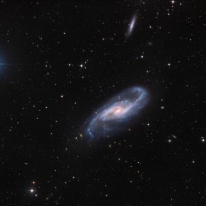 NGC 4536 Spiral Galaxy in Virgo
