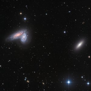 NGC4567/4568 Galaxy Twins in Virgo
