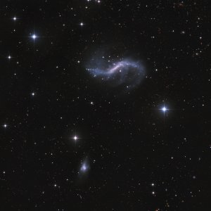 NGC4731 Galaxy in Virgo