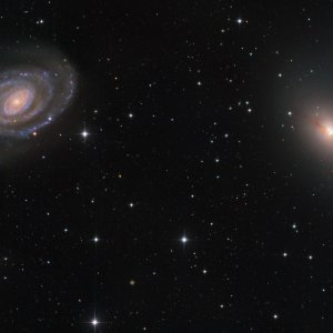 NGC5363/5364 Galaxies in Virgo