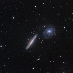 NGC 5774/5775 Galaxy Pair in Virgo