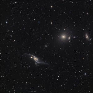NGC 6872 Galaxies in Pavo