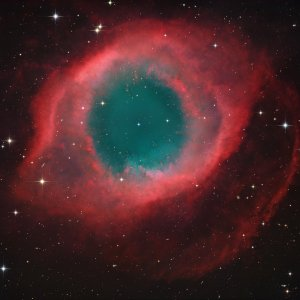 NGC7293 (Helix Nebula) in Aquarius